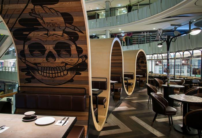 Urban commune hong kong international restaurant