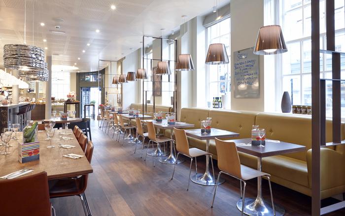 Carluccio s newcastle restaurant or bar in a heritage