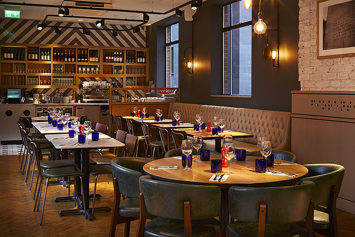Pizza Express Hope Street Liverpool UK Fast Casual