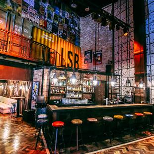 Mezzanine bar 2
