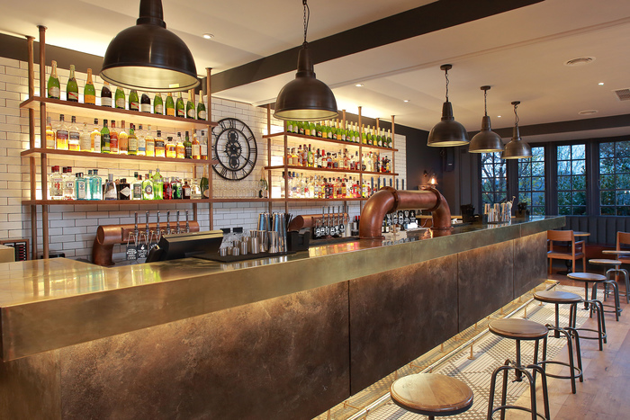 The white lion bristol uk bar or club restaurant