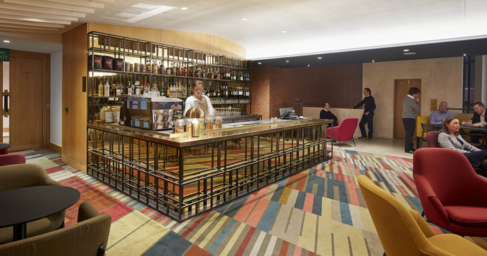 The British Library Members Bar London UK Restaurant Or