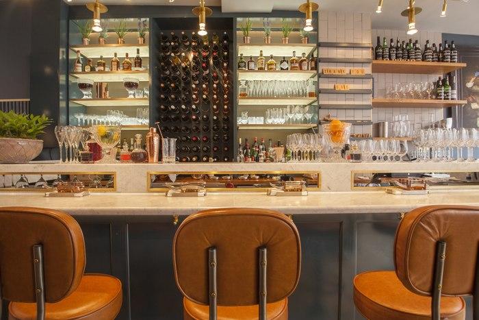 Blandford Comptoir (London, UK), Standalone Restaurant, Lighting ...