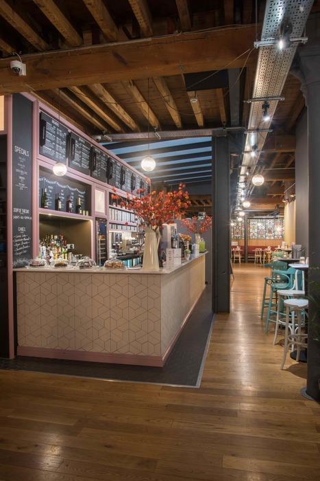 Leaf Manchester UK Restaurant Or Bar In A Heritage Building