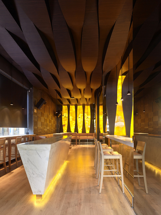 Nero spain europe bar restaurant design awards