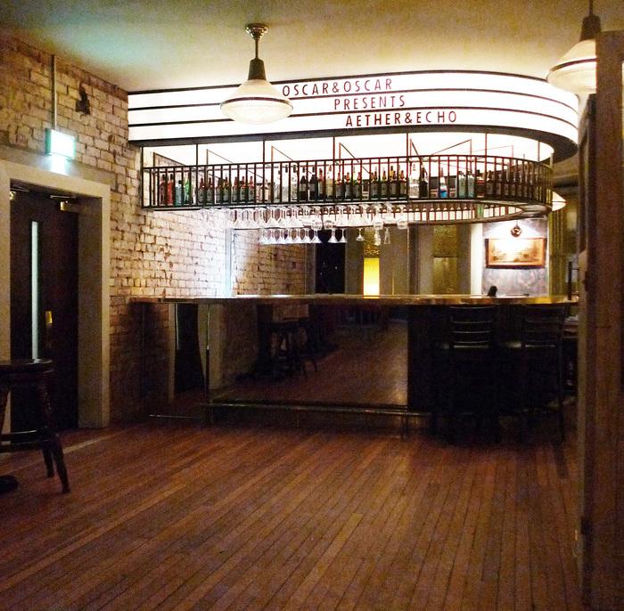 Aether echo belfast standalone bar or club for Art deco lounge ideas