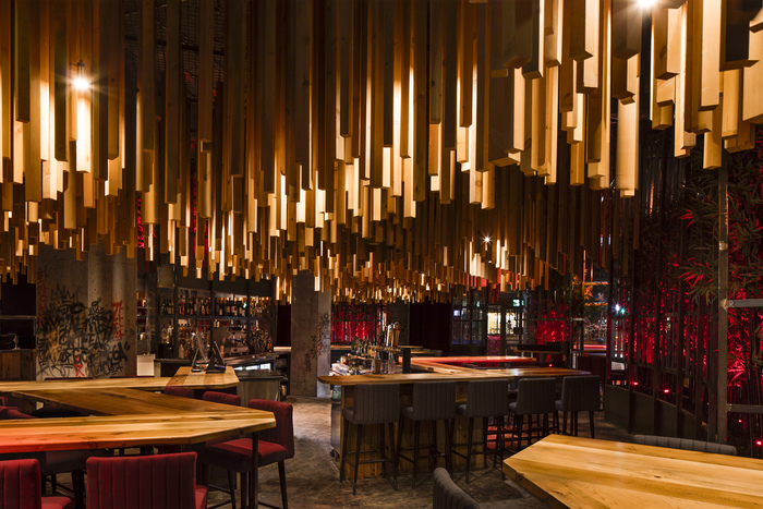 Bar ganadara montreal canada americas restaurant