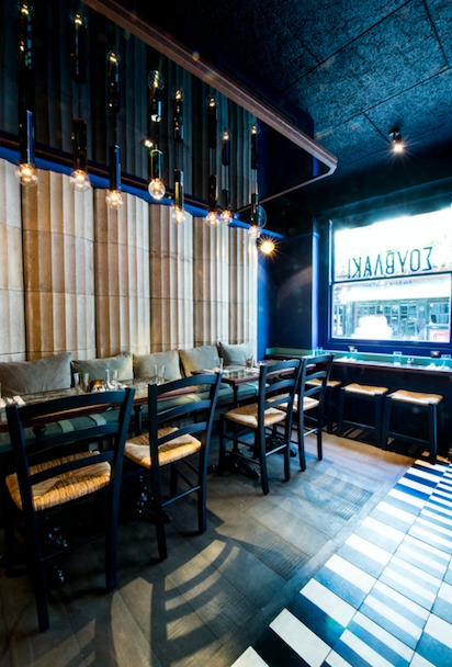 Suvlaki London Uk Standalone Restaurant Bar Design