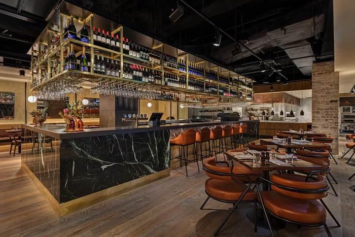 Restaurant And Bar Design Awards Entry 2011 12 : District brasserie sydney australia