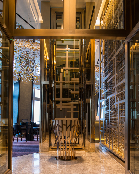 Best bar luxury lotte signiel seoul korea 01 bar 81 entrance