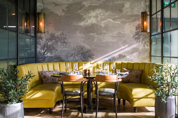 Brasserie blanc hammersmith riverside mustard booth