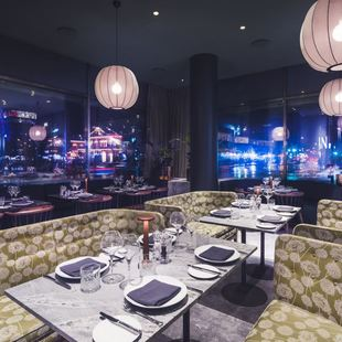 Caf royal is an informal design led restaurant where the guest experience is in focus photo rickard l eriksson
