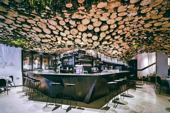 La pilar asador murcia spain ceiling restaurant