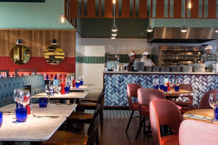 Pizzaexpress Restaurant Bar Design Awards