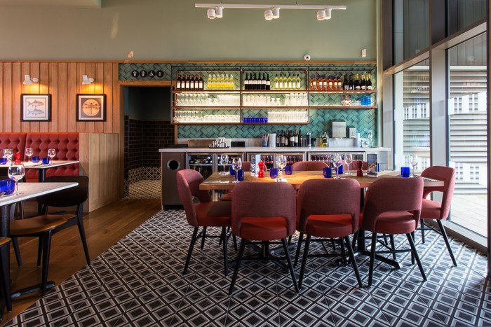 Pizzaexpress Restaurant Bar Design Awards