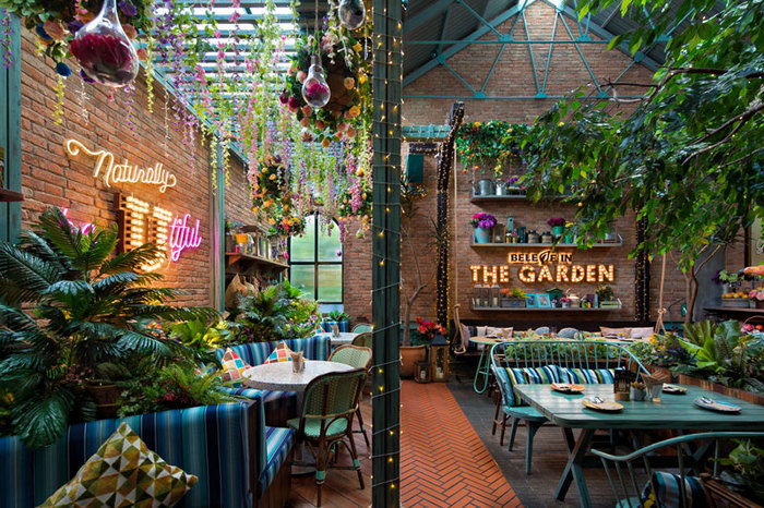 The Garden Restaurant Bar Design Awards