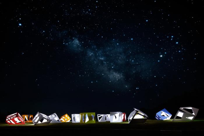 Constellation of Stargazing Tea Ceremony House
