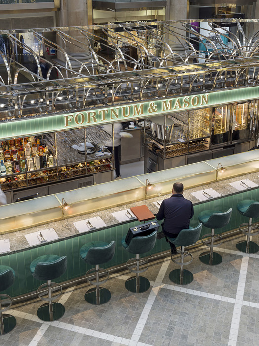 The Fortnum's Bar and Restaurant at The Royal Exchange