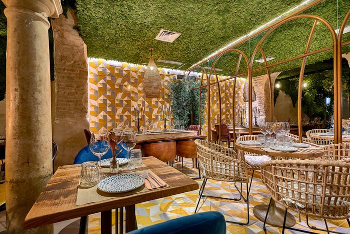 Senza Seville Spain 2019 Restaurant Bar Design Awards